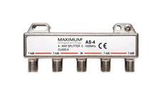 Anténní rozbočovač Maximum AS-4 - 4x F