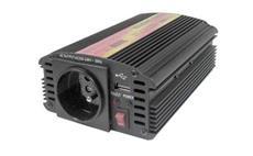 Carspa CAR300U 24V/230V 300W USB (mod. sin.) - SLEVA NA ROZBALENÝ KUS