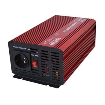 Carspa P1000 12V/230V 1000W, čistá sinusovka