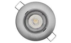 LED bodové svítidlo Exclusive stříbrné, 5W neutrální bílá ZD3222