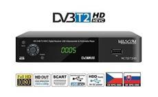 MASCOM MC720T2 HD DVB-T2 H.265/HEVC - SLEVA NA ROZBALENÝ KUS