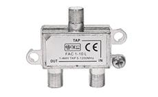 Odbočovač FAC1-10 1xF - 2xF, 5-1000 MHz, 10dB