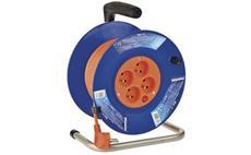 Prodlužovací kabel na bubnu 25m / 3x1mm PVC / 4 zásuvky