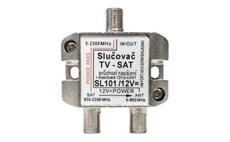 SAT + TV slučovač SL101 + 12V PROFI
