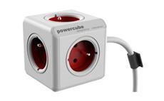 Zásuvka PowerCube Extended s kabelem 1,5m RED